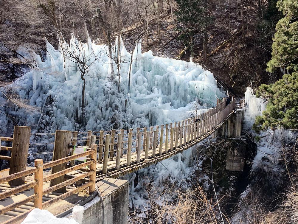 Menikmati Indahnya Panorama Es Pada Musim Salju Di Kota Yokoze Prefektur Saitama
