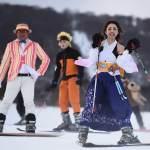 Festival Cosplay Di Gunung Nasu, Sekaligus Menjadi Ajang Promosi Sebuah Resort Ski !