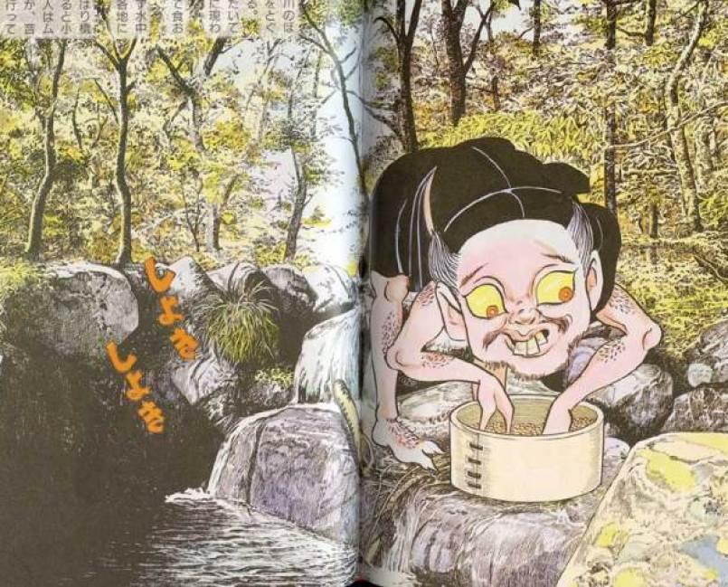 Mitos Siluman Pencuci Kacang Azuki Yang Disebut Azukiarai Atau Azukitogi !