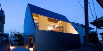 Desain Unik Rumah Pandat Penduduk Di Kota Tokyo Oleh Satoshi Kurosaki