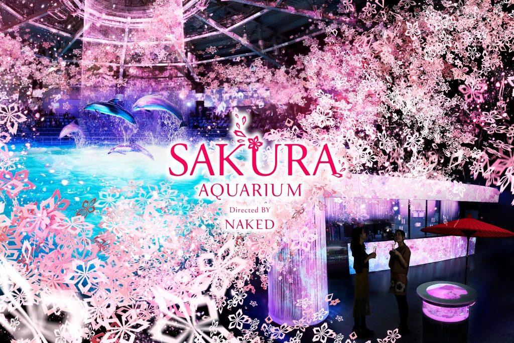 Maxell Aqua Park Di Shinagawa Tokyo Hadirkan Acara Khusus Bertema Bunga Sakura !
