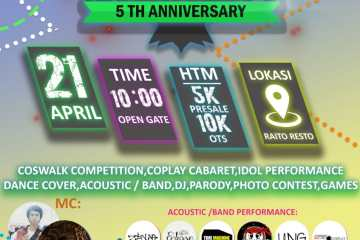 Let's Go!!! 5th Anniversary COSPLAY BOGOR