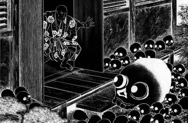 Mitos Mekurabe, Yokai Berbentuk Tengkorak Yang Terkenal Selama Periode Edo