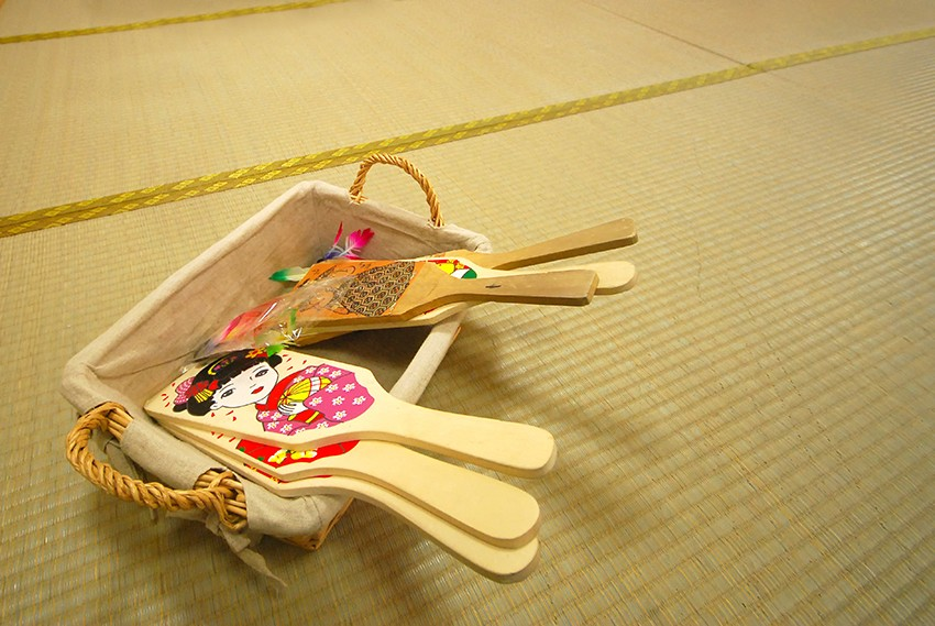 Permainan Bulu Tangkis Tradisional Jepang Yang Disebut Hanetsuki