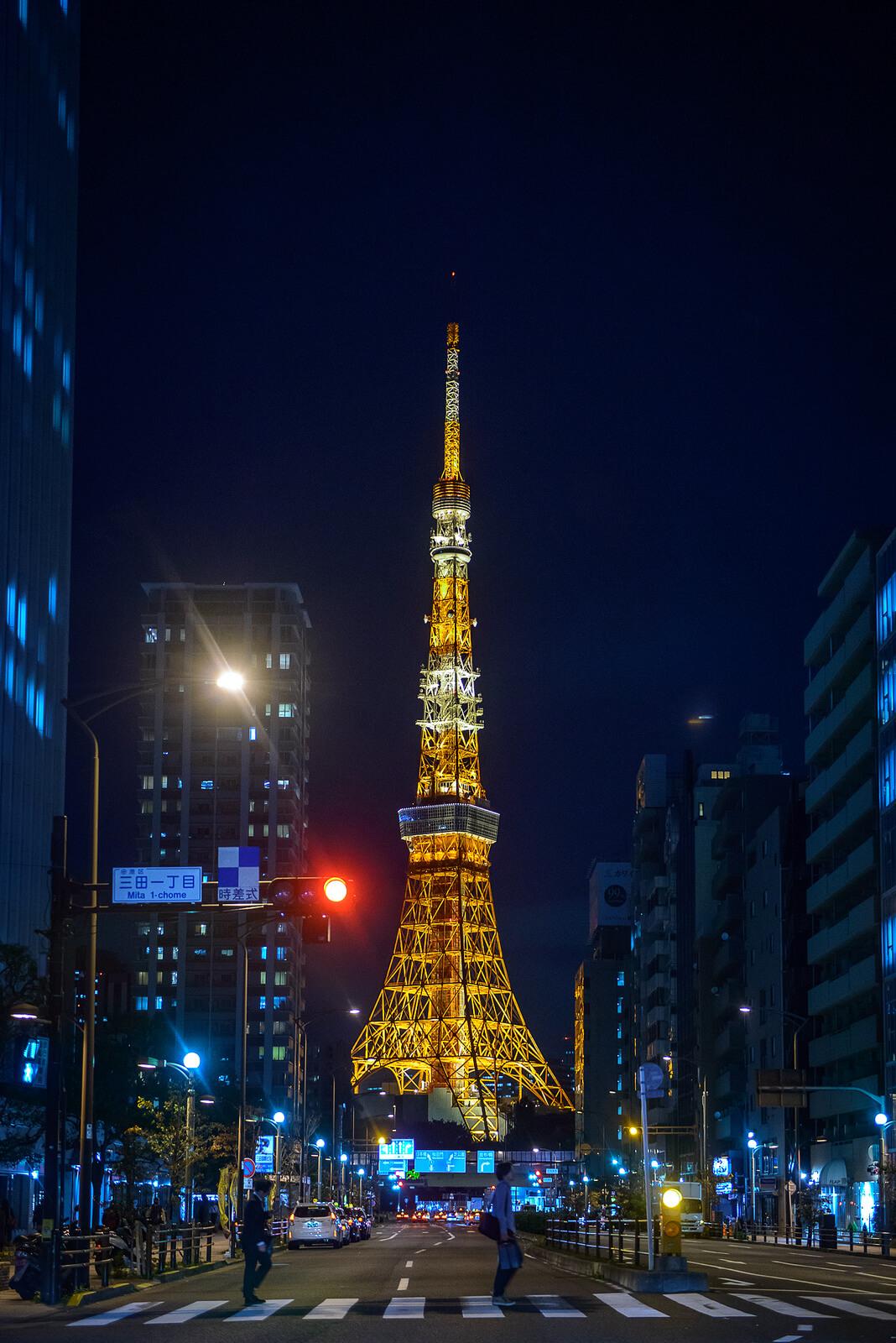 4 Lokasi Terbaik Untuk Melihat Menara Tokyo !