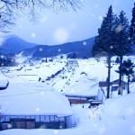 Panorama Indah Dan Tradisional Desa Ouchi-juku Prefektur Fukushima
