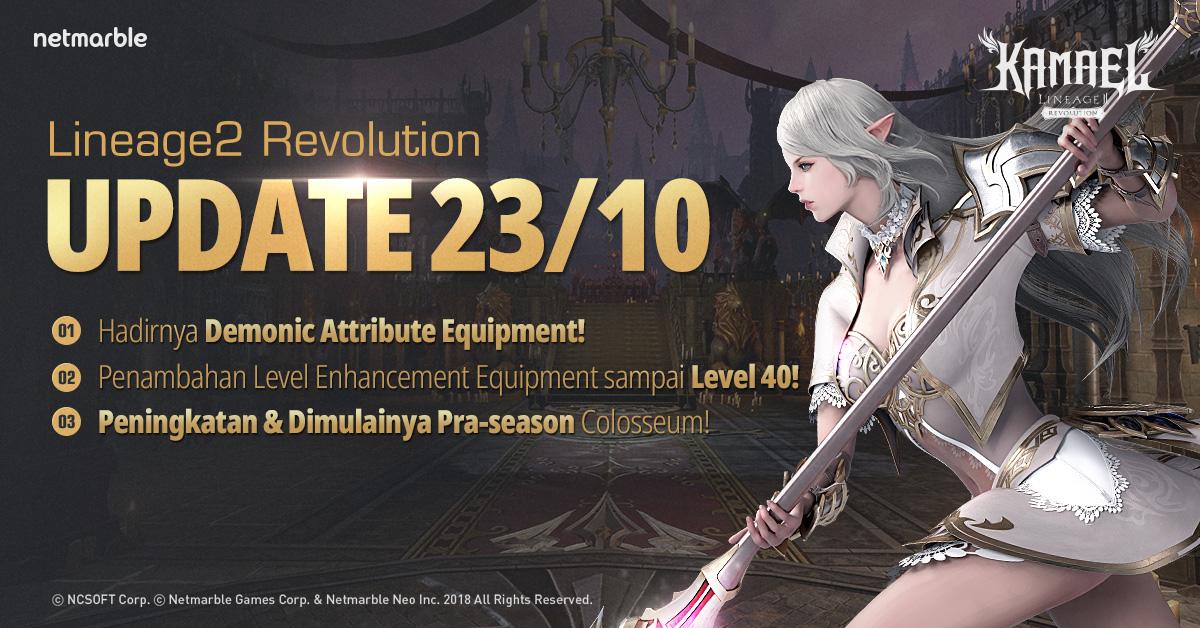 [Lineage2 Revolution] Update Equipment dan Dungeon Baru