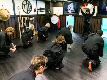 VR NINJA DOJO : Pengalaman Terbaik Menjadi Ninja Di Tokyo !