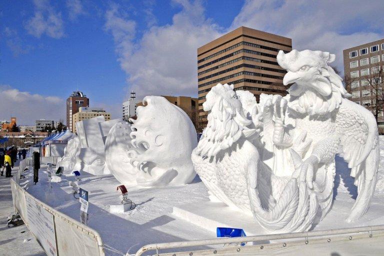 Festival Salju Sapporo Terpaksa Berhenti Lebih Awal Karena Krisis Salju