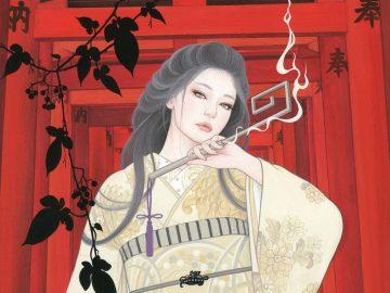 Wanita Cantik Dengan Kimono, Lukisan Indah Yang Terkenal Dari Miki Katoh