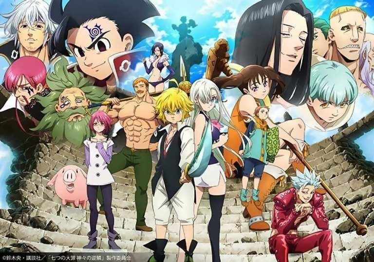 Serial Seven Deadly Sins Dapatkan Cerita Sekuel Baru Dan Juga Adaptasi Anime Terbaru !