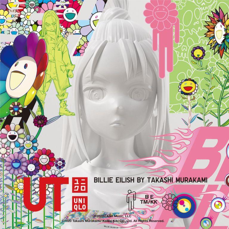 UNIQLO Luncurkan Kolaborasi Terbaru Mereka Bersama Billie Eilish Dan Murakami UT