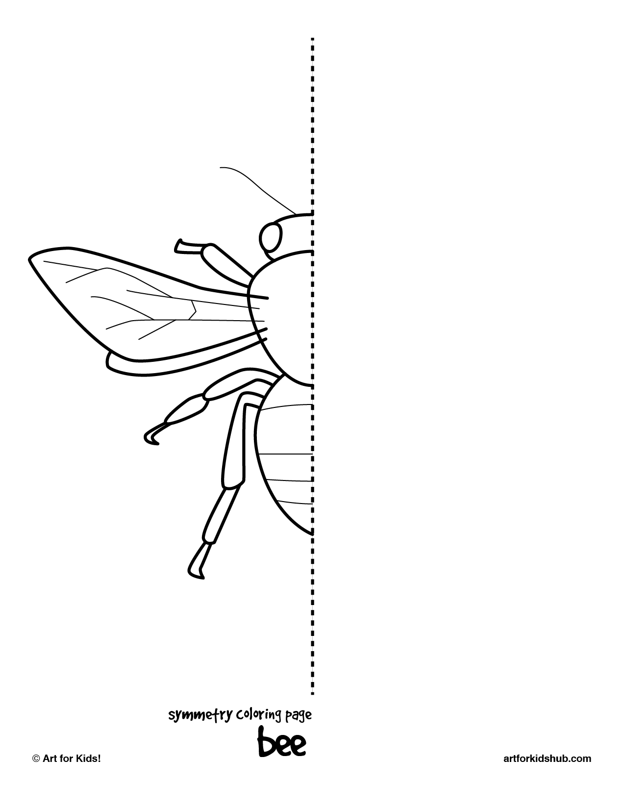 grasshopper insect diagram 7 pin wiring dodge 10 free coloring pages - bug symmetry art for kids hub