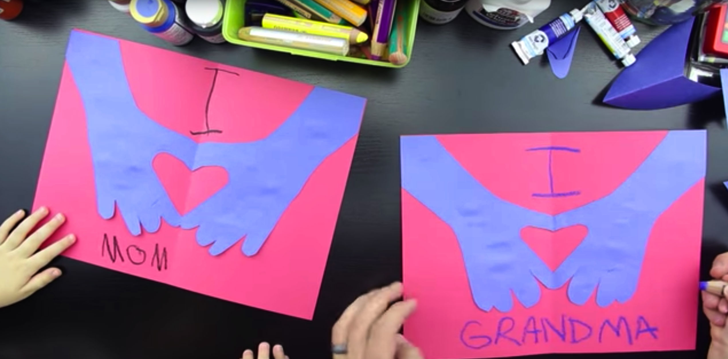 Super Easy Valentine's Card For Kids Art For Kids Hub