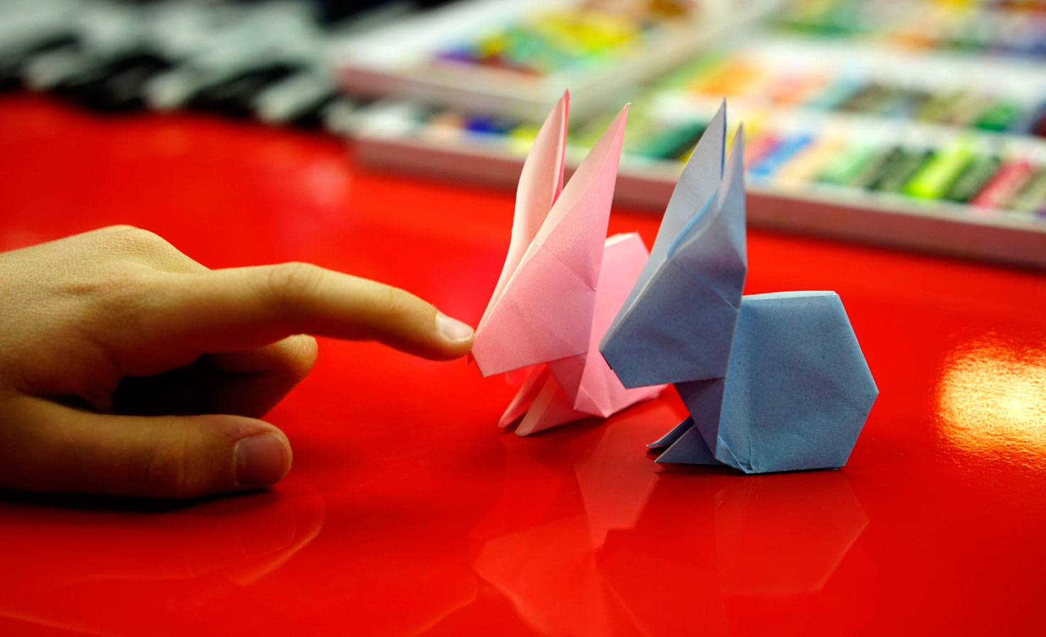 How To Fold An Origami Easter Bunny Art For Kids Hub