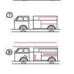 How To Draw A Fire Truck Art For Kids Hub
