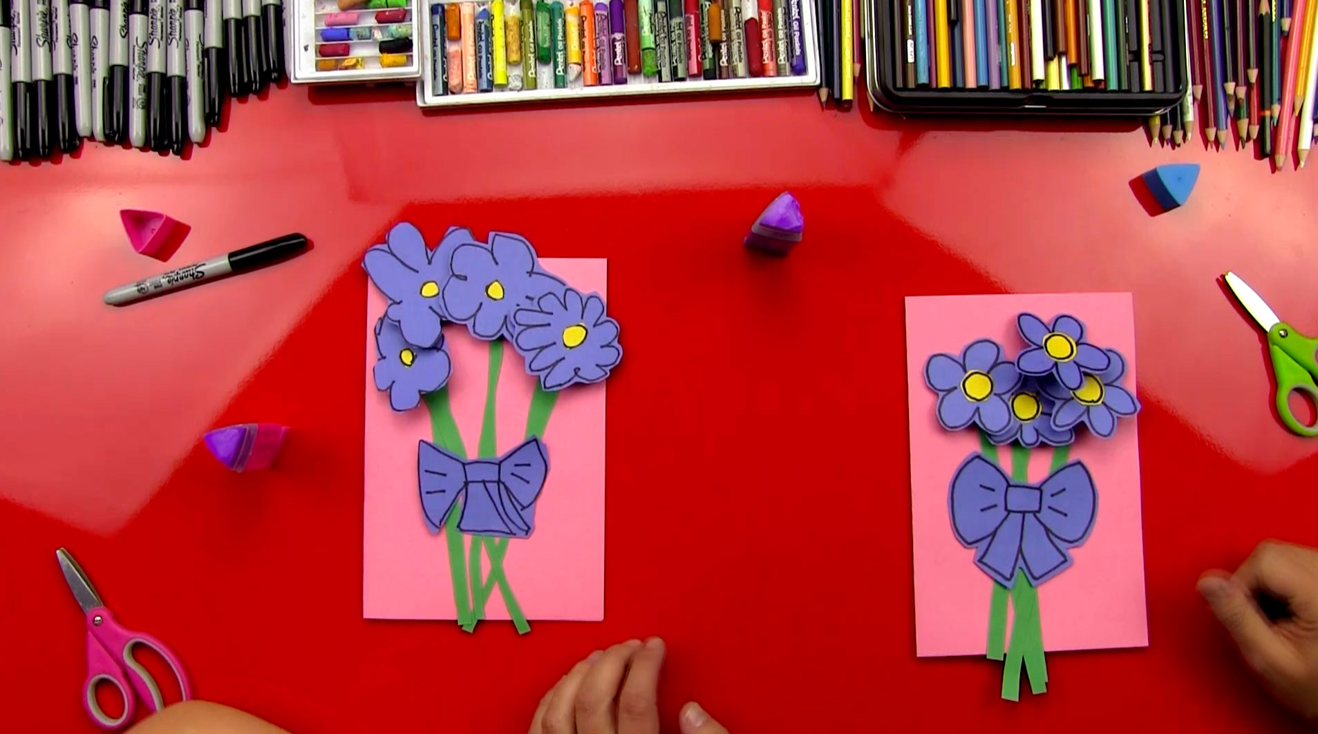 Easy Mother's Day Card Art For Kids Hub