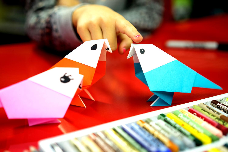 How To Fold An Origami Bird Parakeet
