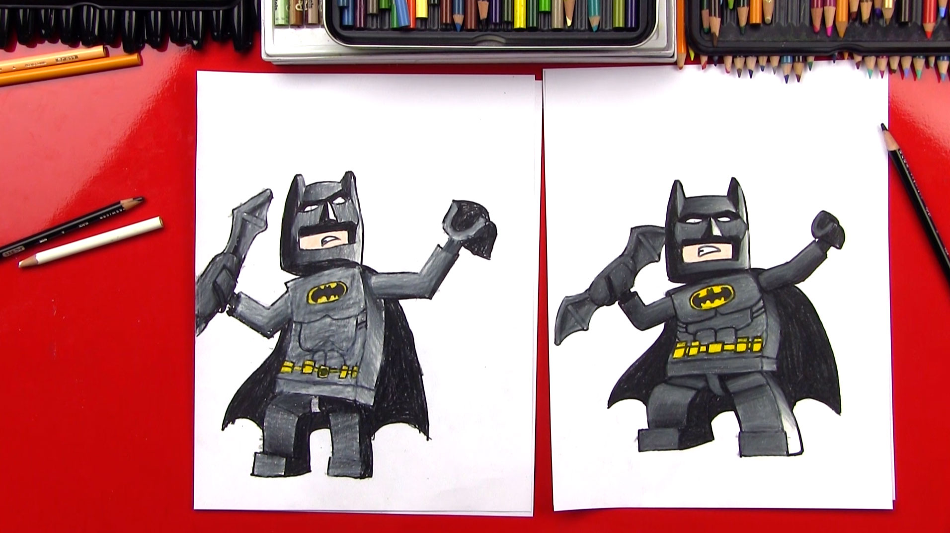 Cute Trolls Wallpaper How To Draw Lego Batman Sya Art For Kids Hub