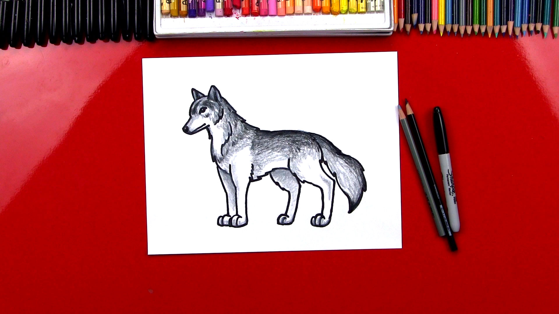 See more ideas about easy drawings, drawings, easy drawings for kids. How To Draw A Realistic Wolf - Art For Kids Hub