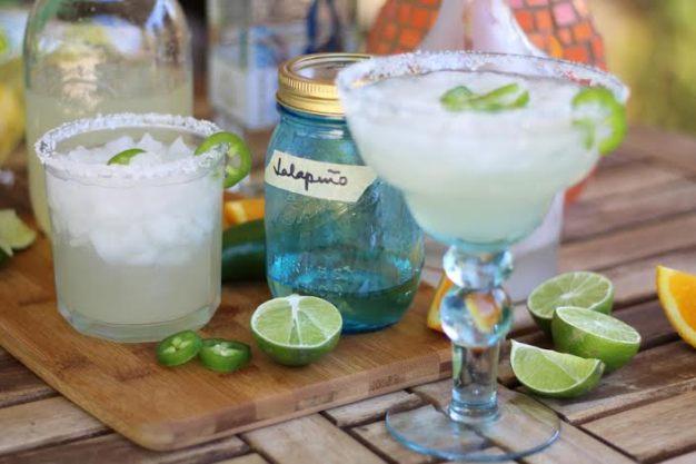 Jalapeno Lime Margaritas Artful Dishes