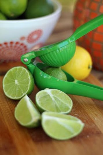 Squeezing Fresh Lime Juice Artful Dishes