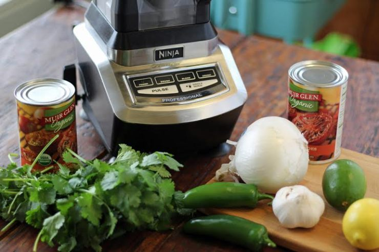 Ingredients for Roasted Jalapeno Blender Salsa | www.artfuldishes.com