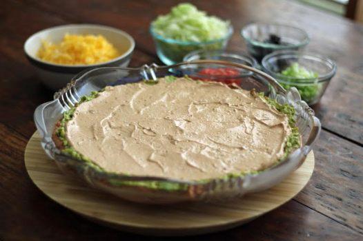 layer three - sour cream