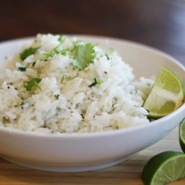 Cilantro lime rice side dish
