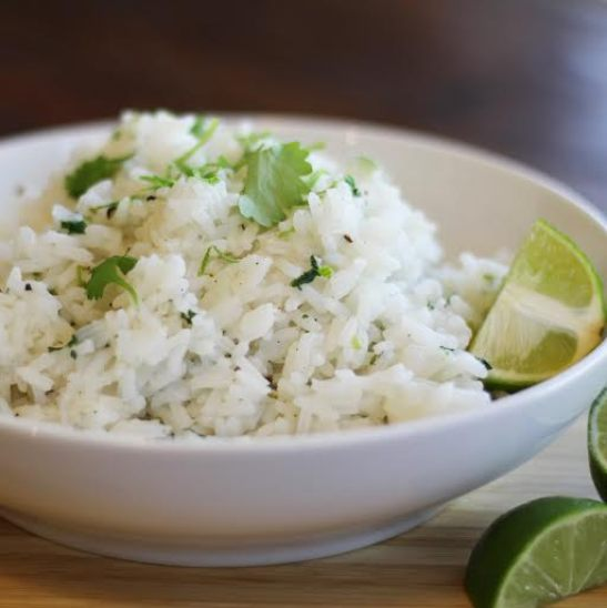 Cilantro lime rice side dish