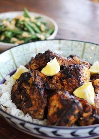 Smokey Garlic Cast Iron Chicken and Rice