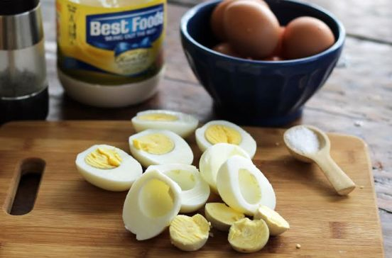 Classic Egg Salad Ingredients