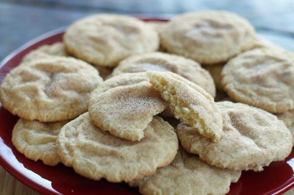 Cinnamon Sugar Snickerdoodle Cookies Holiday Favorites