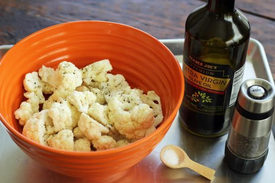 Roasting Cauliflower with Olive Oil Artful Dishes