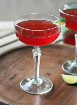 Raspberry Vodka Chambord Cosmo Artful Dishes