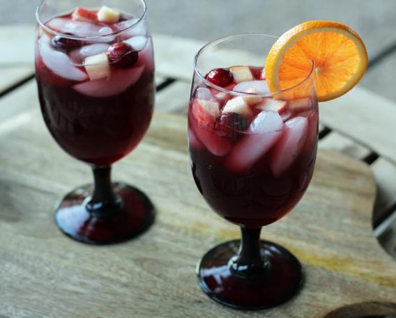 Cheers to Festive Red Wine Sangria Artful Dishes