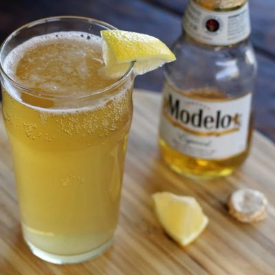 Tequila Shandy Beer Cocktail
