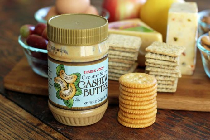 Alternative Ingredients for Protein Box Lunches Cashew Butter | artfuldishes.com