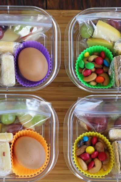 Protein Box Lunches (Meal Planning)