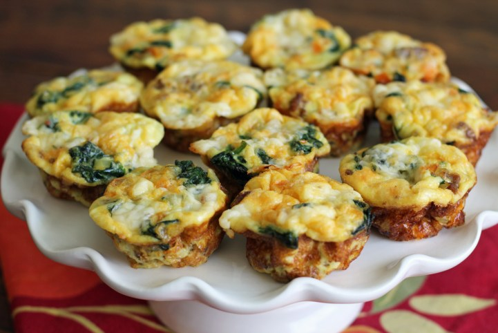 Mini Frittatas are Perfect for Brunch too | www.artfuldishes.com
