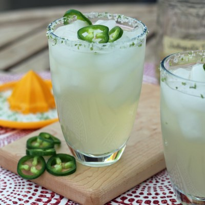 The Ultimate Jalapeno Margarita
