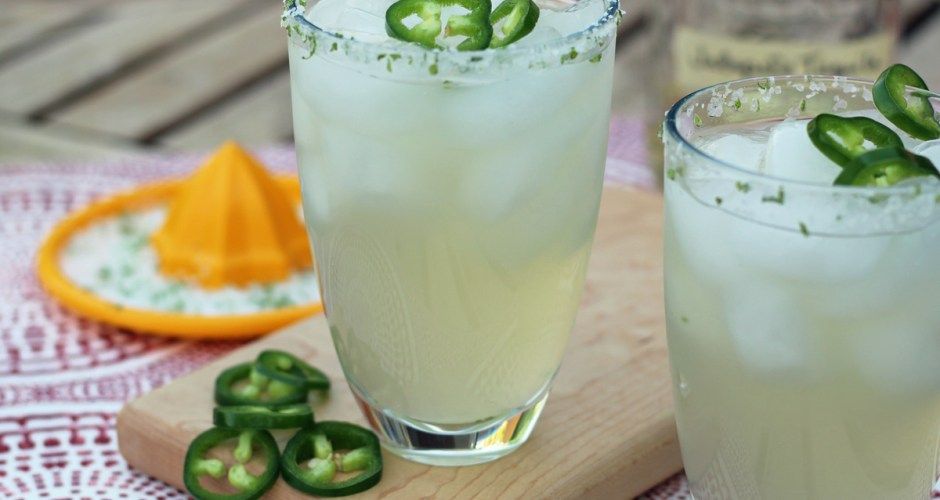 The Ultimate Jalapeno Margarita