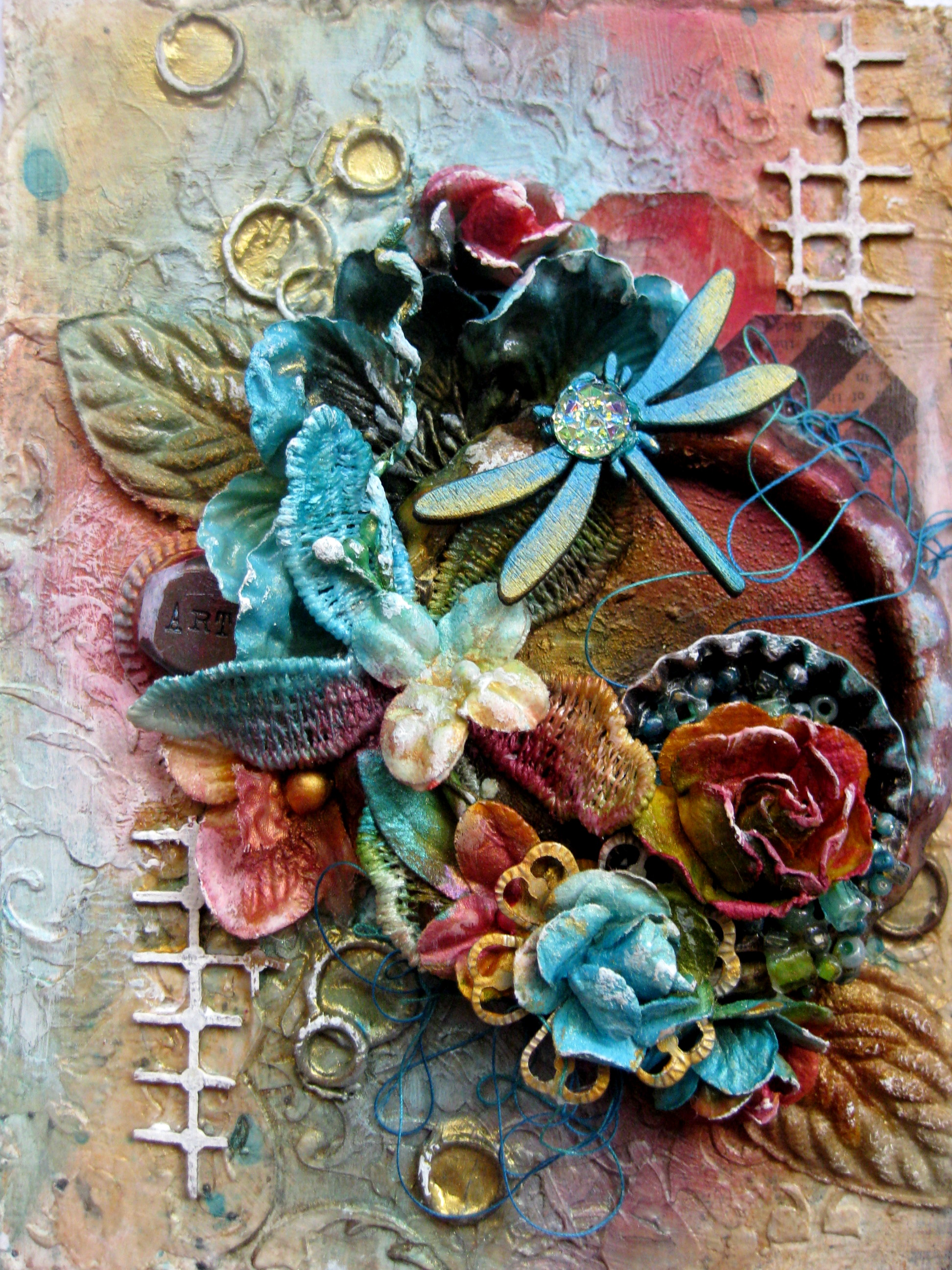 Mixed Media Cards and Tags
