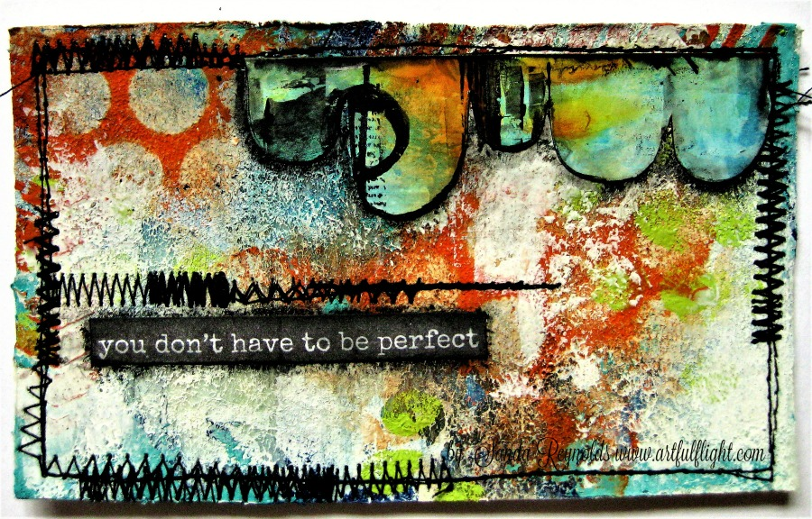 "ICAD challenge - Day #19 ""You Don't Have To Be Perfect"""