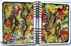 """Herbarium"" – Art Journal Page for Finnabair CT"