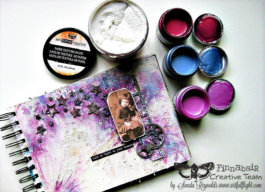 New texture pastes, new paints, new work
