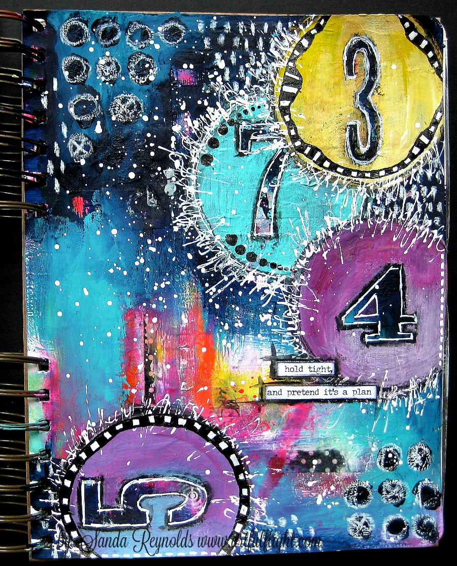 Art Journaling Youtube Hop and GIVEAWAY