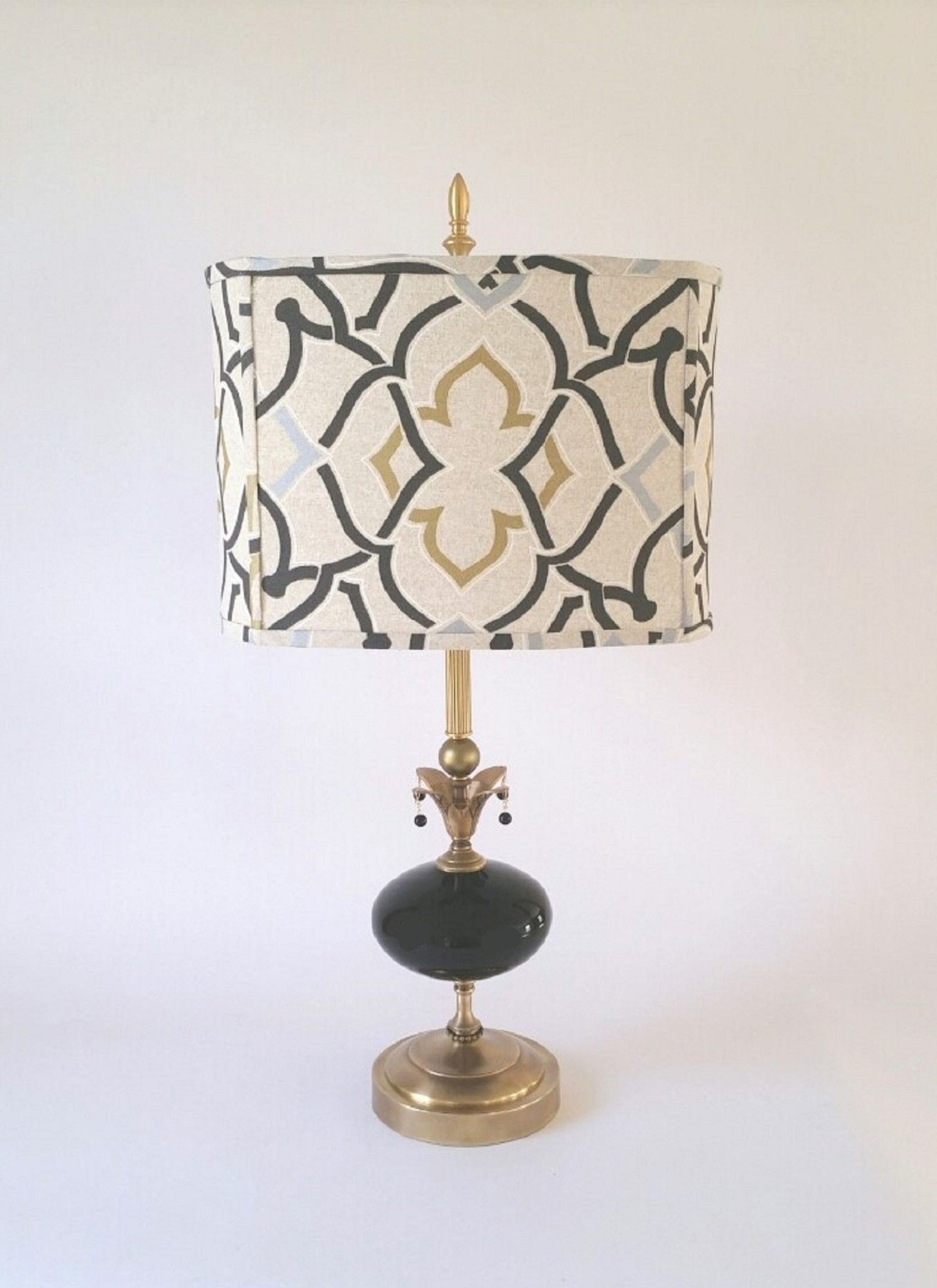 Moroccan Table Lamp By Mollie Woods Mixed Media Table Lamp Artful Home