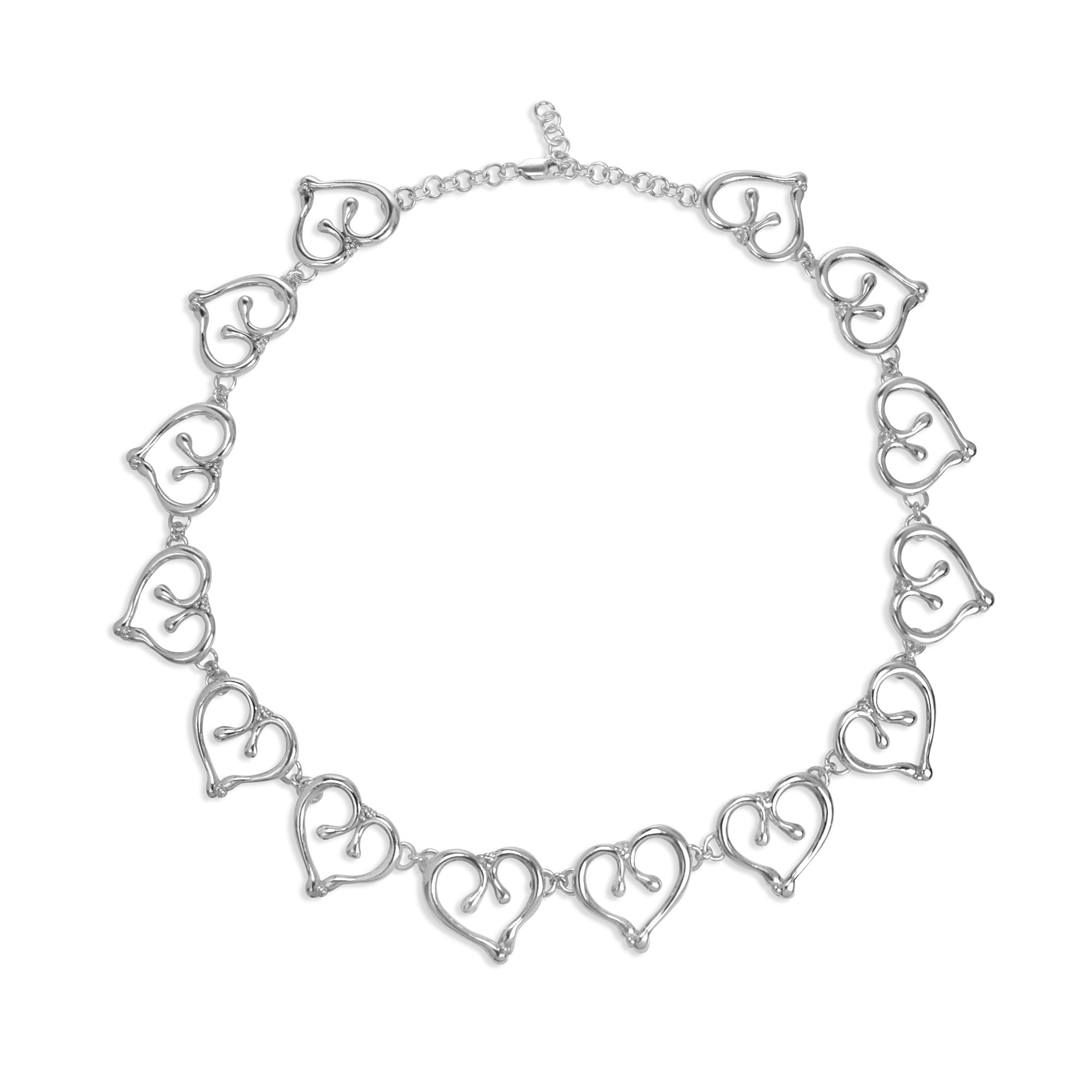Ginkgo Heart Necklace By Chiachien Tsai Silver Necklace