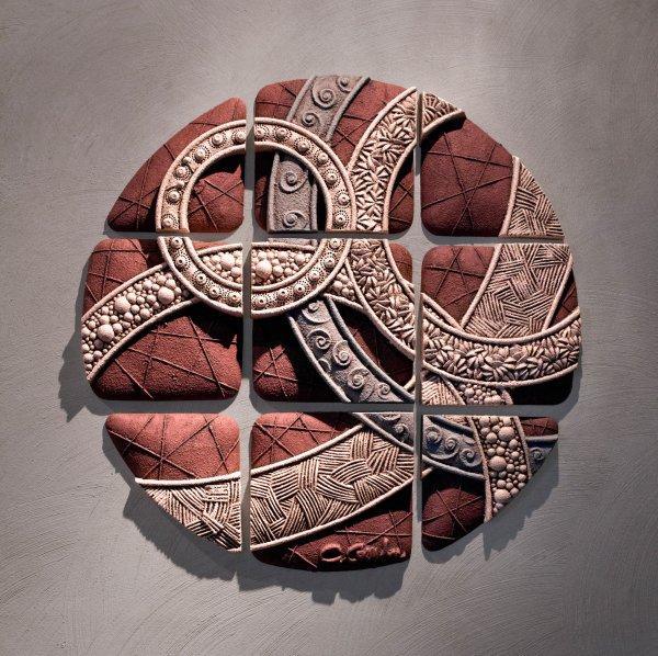 Circle Geometry Christopher Gryder Ceramic Wall